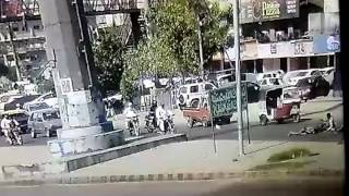 Accident in Clifton Karachi 2017 Video
