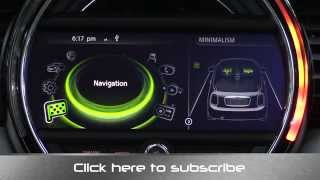 2015 Mini Coonnected Infotainment and Navigation System Review