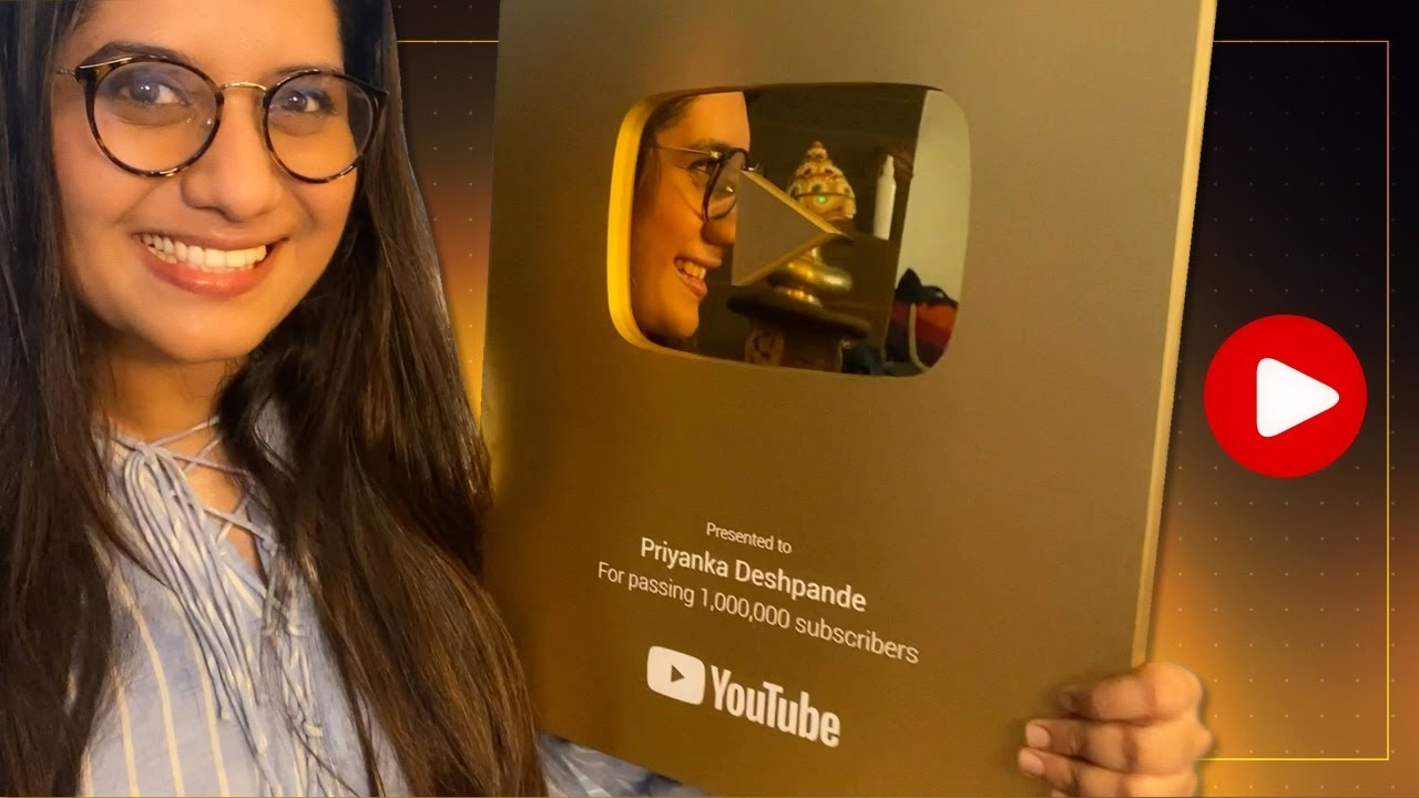 Gold Play Button!!