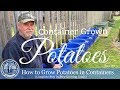 HD How To Grow Potatoes In Containers (Part 1 of 3)