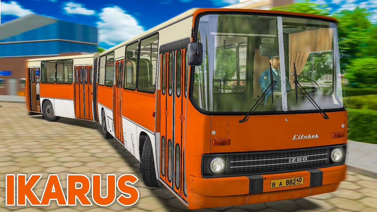 omsi 2 mit dem citybus ikarus i280 unterwegs in stettin preview vom ddr bus youtube. Black Bedroom Furniture Sets. Home Design Ideas