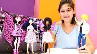 Ayşe Monster High Drakulaura'nın güzellik yarışması eteğini buluyor