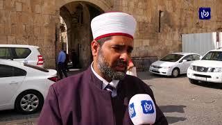 كاميرات جديدة على مداخل المسجد الأقصى في القدس المحتلة - (13-11-2017)