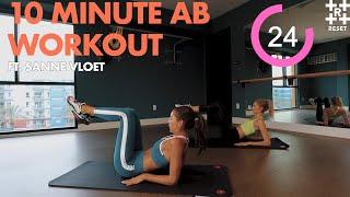 10 MINUTE AB WORKOUT (FT. SAMI CLARKE & SANNE VLOET)