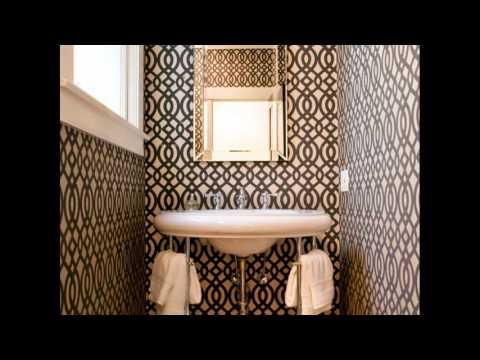 Tiny half bathroom designs
