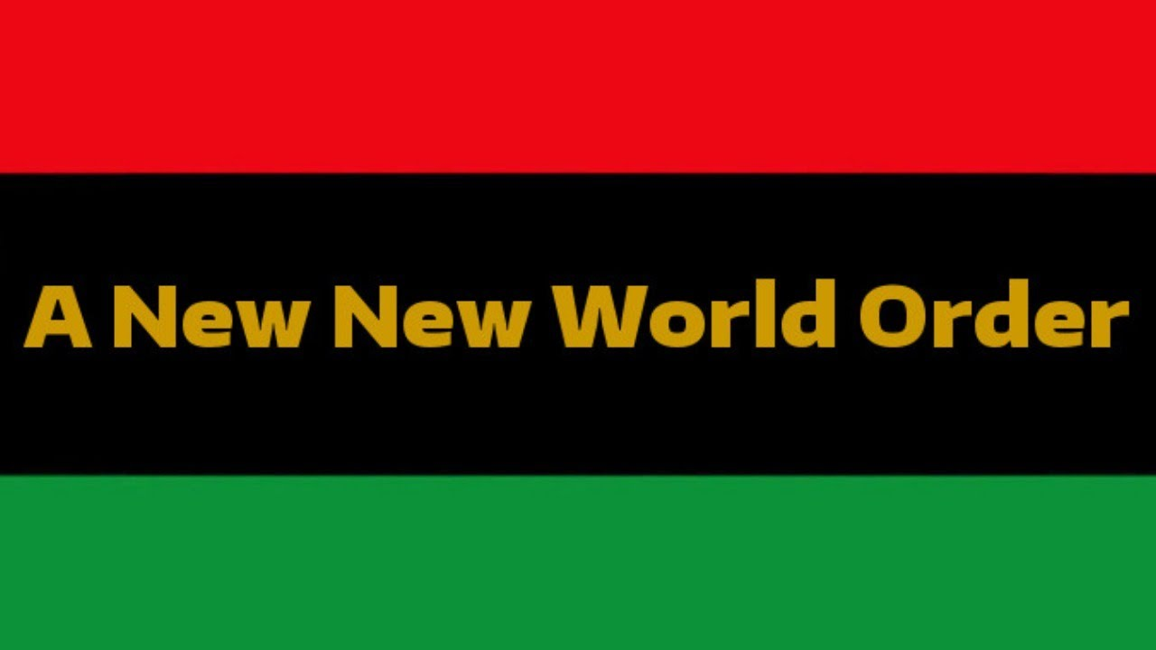 Black People Must Build A New World