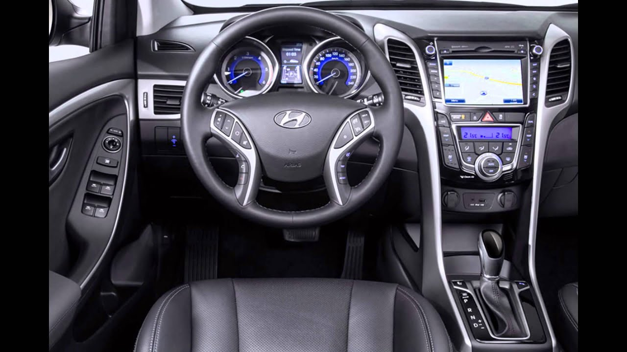 Hyundai I30 Interieur 2016 Hyundai I30 Interior Youtube