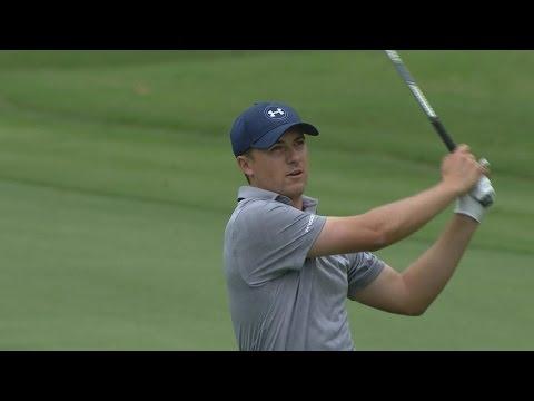 Jordan Spieth loves talking to his golf ball