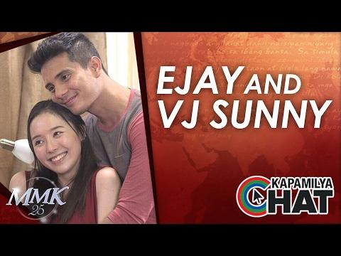 Kapamilya Chat with VJ Sunny Kim and Ejay Falcon for Maalaala Mo Kaya