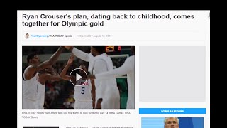 Ryan Crouser's plan, dating back to childhood, comes together for Olympic gold