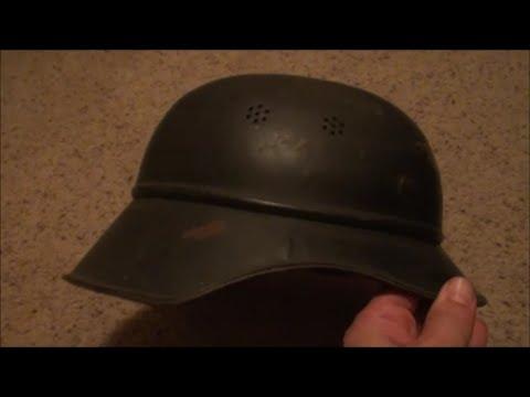 World War 2 German Helmet FOUND IN STORAGE