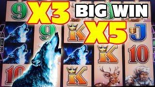 Timberwolf Slot Machine Bonus   ★   BIG WIN   ★   X3 X5!!!