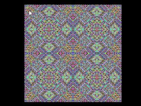 Цветные узоры, компьютерная графика