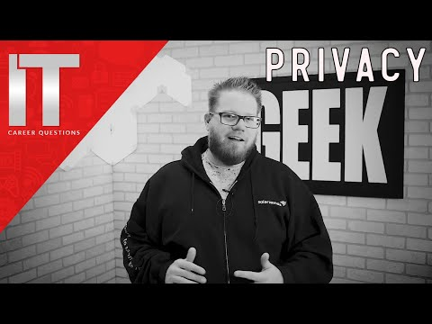 Do You Value Your Privacy?  What's My Take on Privacy in 2017
