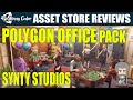 Unity Asset Reviews - Synty Studios Polygon Office Pack