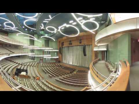 Tour the new Hancher auditorium in 360 degrees