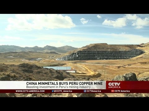 China Consortium Buys Peru Copper Mine