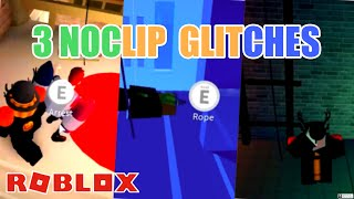 How to Noclip Glitch into 3 ROBBERIES in Jailbreak! Roblox