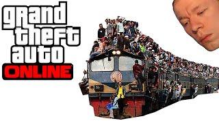 GTA V Online [#49] - O DWÓCH TAKICH CO WSIEDLI NA POCIĄG! [With: Pavel, Plaga] /Zagrajmy w
