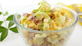 Венский салат — видео рецепт