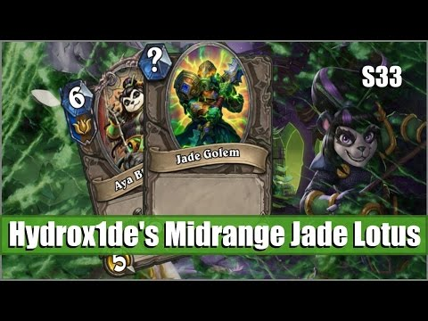 Hydrox1de's Midrange Jade Lotus (Hearthstone Deck Showcase)