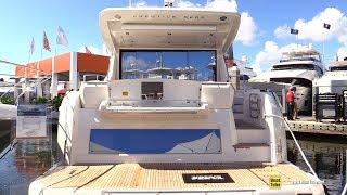 2020 Prestige 520 S Luxury Yacht - Walkaround Tour - 2019 Fort Lauderdale Boat Show