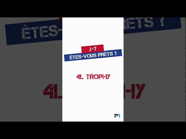 J-7 : Gagne ton pack 4L Trophy 2020