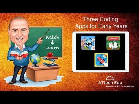3 Coding Apps for Early Years - Using the iPad to teach coding to younger children