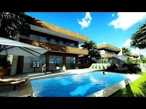 villa de luxe villa haut standing villa moderne marrakech youtube. Black Bedroom Furniture Sets. Home Design Ideas