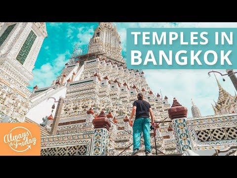 TEMPLES IN BANGKOK - WAT ARUN & WAT PHO