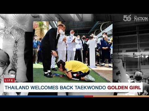 Thailand welcomes back taekwondo golden girl | The Nation Thailand