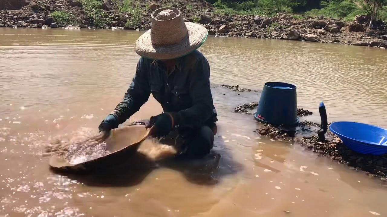 Поиск золота в Таиланде. часть5. Самое чистое золото Таиланда.