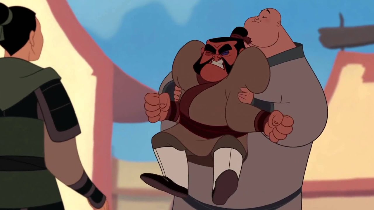 Mulan When Chien Po Is Chanting With Yao You Can See Him Visibly Relax See He Does Feel Better Shittymoviedetails