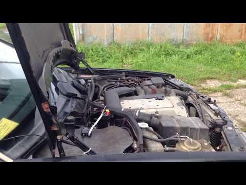 W124 Диагностика 104 мотор 3.2 HFM САМОСТОЯТЕЛЬНО !)