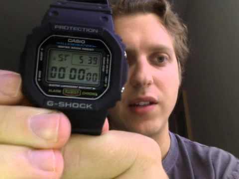 Classic casio g shock review dw 5600e 1v youtube