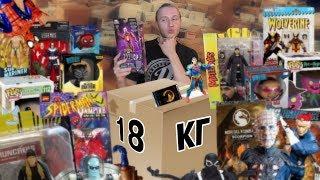 Розпакування 18 кг фігурок на 1200$ частина 1. Marvel legends, DC, Джей і Боб, MK, Funko, Рік і Морті.