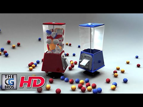 "Thumbnail: CGI 3D Animated Shorts HD: ""Gumball Wars"" - Red Echo Post"