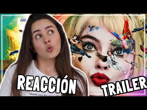 REACCIÓN TRAILER BIRDS OF PREY 🦅| ¿Harley Quinn rompiendo la 4ta pared? | ANDRU★