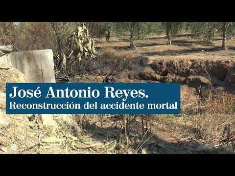 José Antonio Reyes: reconstrucción del accidente del futbolista