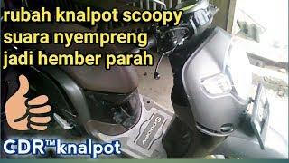 Gambar cover Robah knalpot suara cempreng jadi mberr gledek.. #CDRknalpot