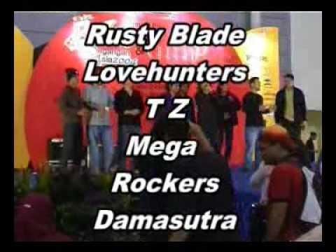 Konsert Rock bersama kumpulan.... Rusty Blade - Tz - Lovehunters - Rockers - Damasutra - Mega