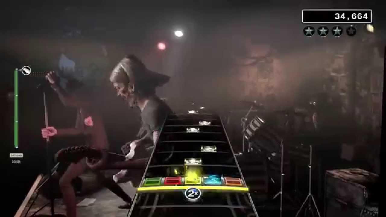rock band 4 dream genie lightning bolt hard guitar youtube