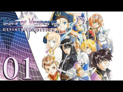 Creed Streams: Tales of Vesperia Definitive Edition (Part 1)