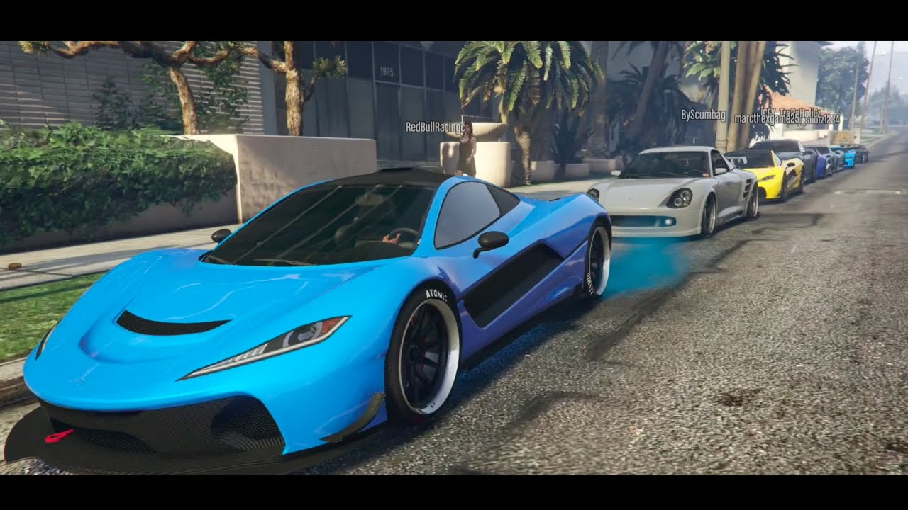 Gta Online Exotic Car Meet Morning Meet Up Cruising Racing
