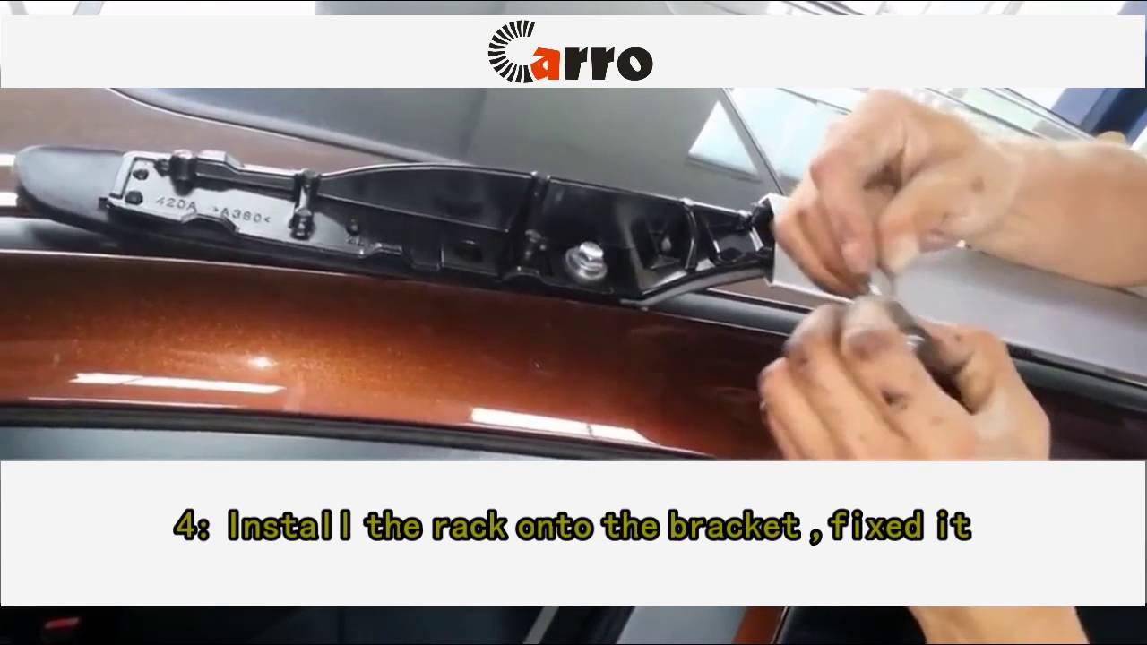 how to install toyota rav4 roof rack 13 15