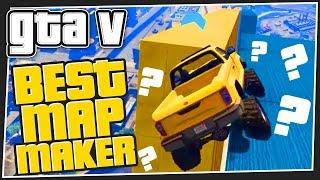 BEST MAP MAKER   GTA 5 Online