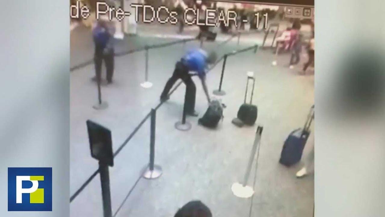 """Download """"No soy un héroe"""": Agente hispano que se deshizo de una mochila con humo en un aeropuerto"""