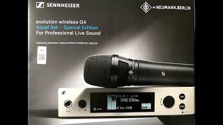 Neumann KK 205 & Sennheiser ew G4 Unboxing