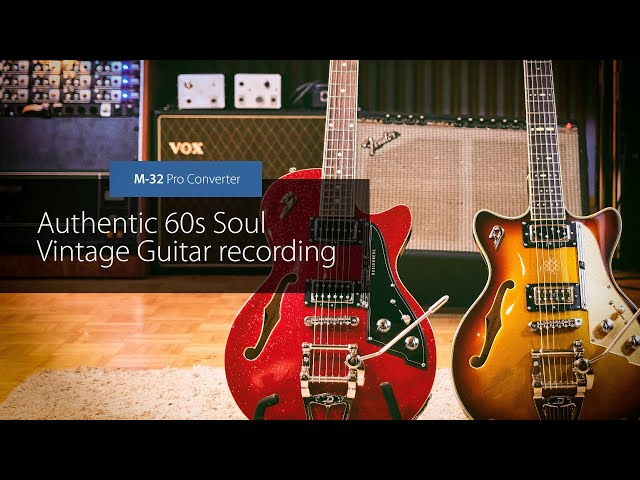 60s Soul Guitar Recording with the M-32 Pro