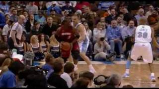 Dwyane Wade desperation three (Dick Vitale go crazy) vs NUG 07-01-09